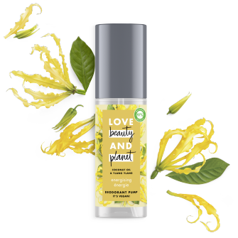 déodorant brume énergie Love Beauty Planet 125ml