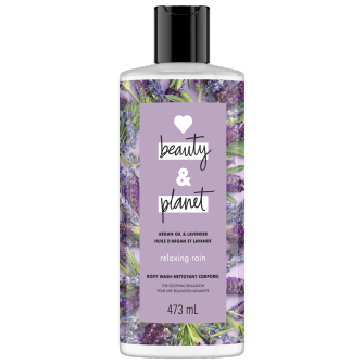 Image de l'emballage du Argan Oil & Lavender Body Wash de Love Beauty & Planet