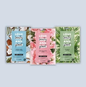 Three sheet masks