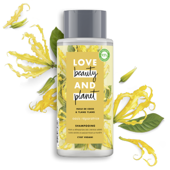 shampooing oasis réparatrice Love Beauty Planet 400ml