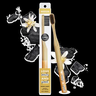 brosse à dents en bambou medium Love Beauty and Planet