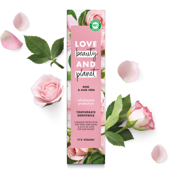PNG - Love Beauty Planet - Rose Aloe Toothpaste