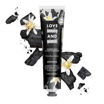 dentifrice blancheur detox Love Beauty Planet 75ml