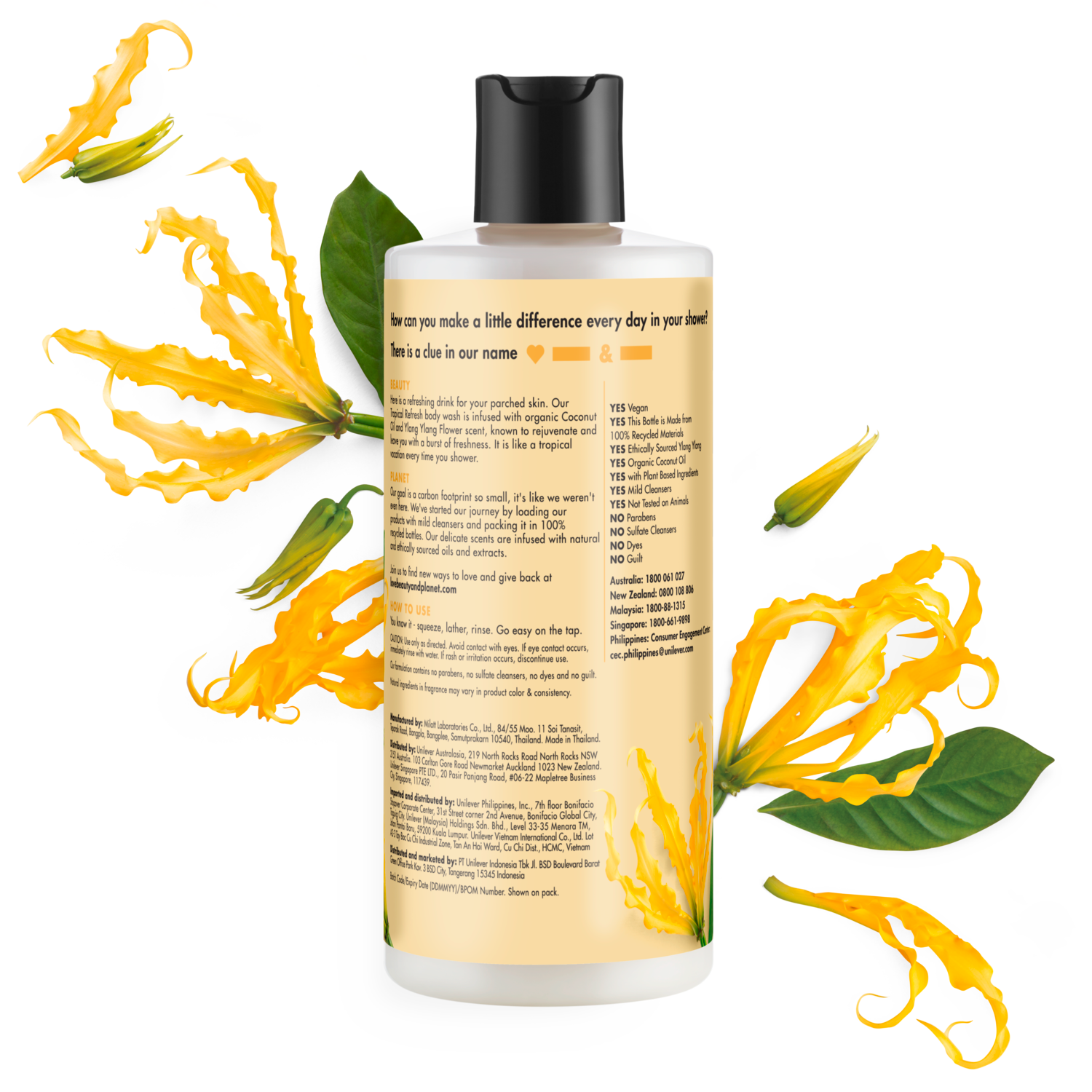 Love Beauty and Planet Coconut Oil & Ylang Ylang Shampoo Hope and