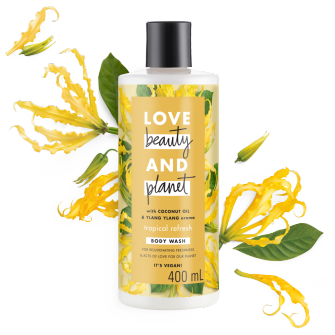 Front of Love Beauty And Planet Body Wash Coconut Oil & Ylang Ylang 400 ML