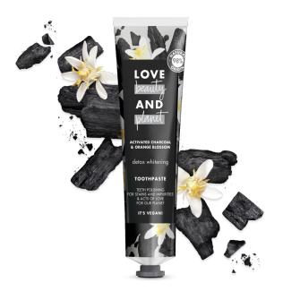 Front of pack Love Beauty and Planet Toothpaste Detox whitening 75ml