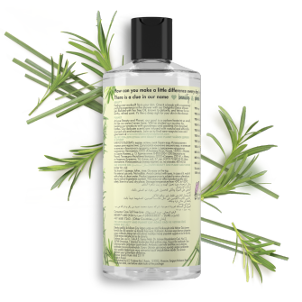 Back of body wash pack Love Beauty Planet Tea Tree Oil & Vetiver body wash Delightful Detox 500ml