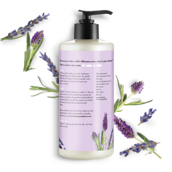 Back of body lotion pack Love Beauty and Planet Argan Oil & Lavender Body Lotion Argan Oil & Lavender Soothe & Serene 13.5oz