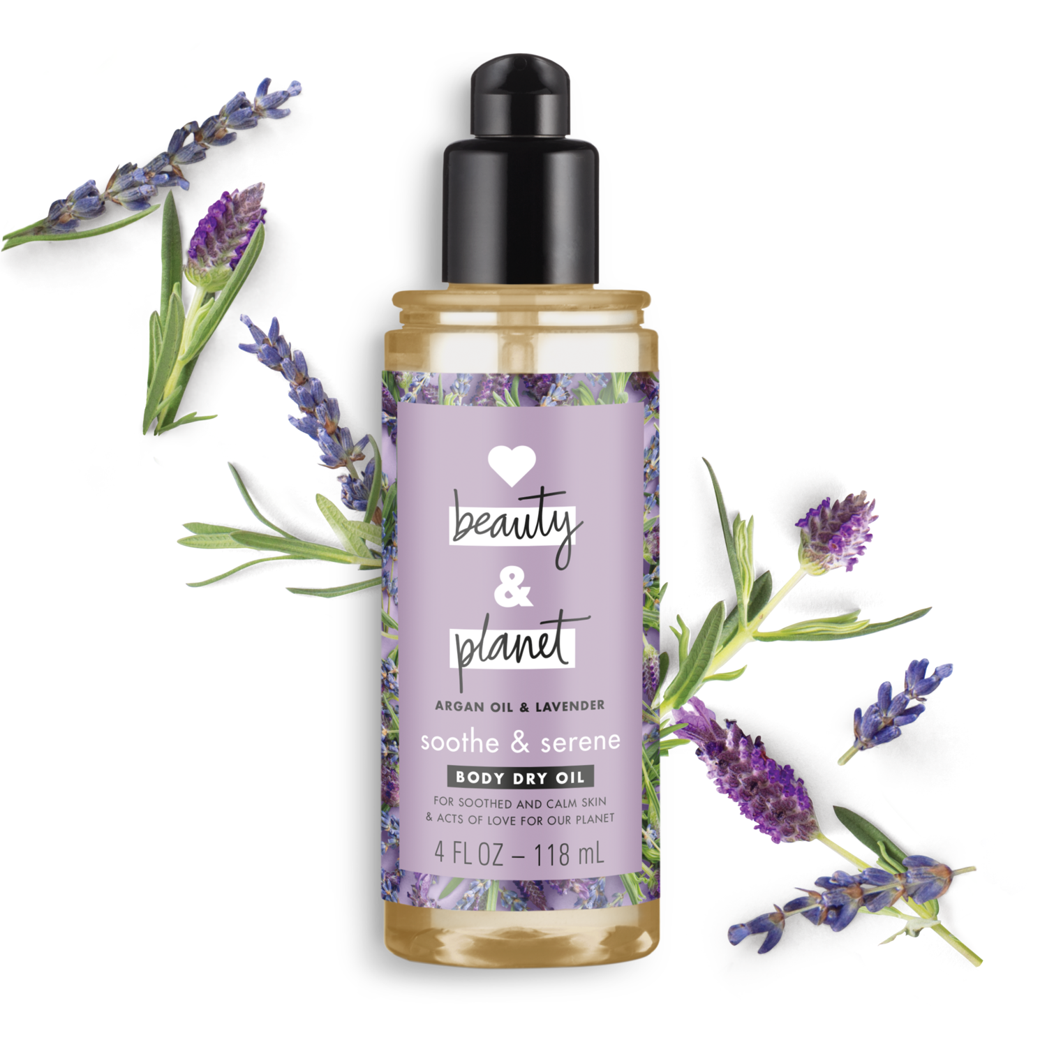 Love Beauty Planet Argan Oil Amp Lavender Body Dry Oil
