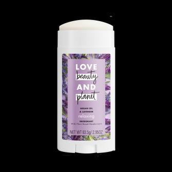 Love Beauty and Planet Argan Oil & Lavender 2.95oz