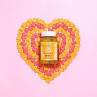 Love Beauty and Planet Citrus Crush Gummy Vitamins Lifestyle Image