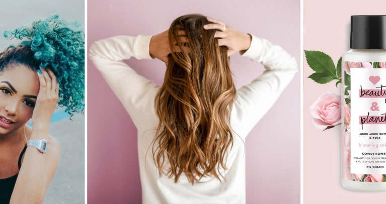 Balayage vs. Ombre Hairstyles: Header Image Of Love Beauty and Planet Blooming Color Conditioner