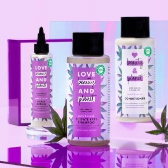 Love Beauty and Planet Hemp Seed Oil & Nana Leaf Collection Image