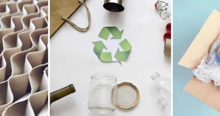 recyclable and recycled packaging