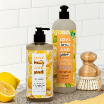 Love Beauty and Planet Yuzu & Vanilla Hand Wash Lifestyle Image