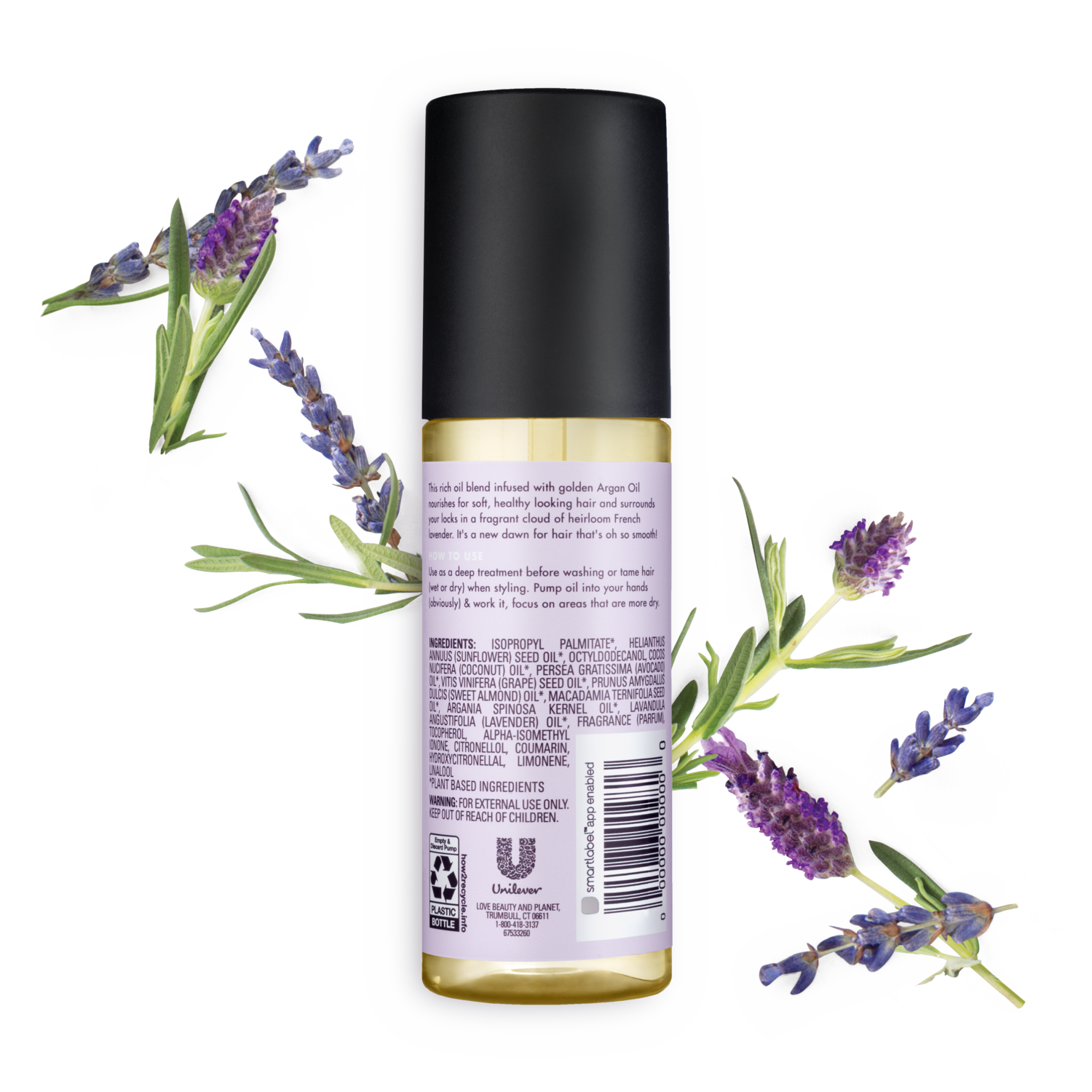 Love Beauty And Planet Argan Oil Lavender Leave In Conditioner