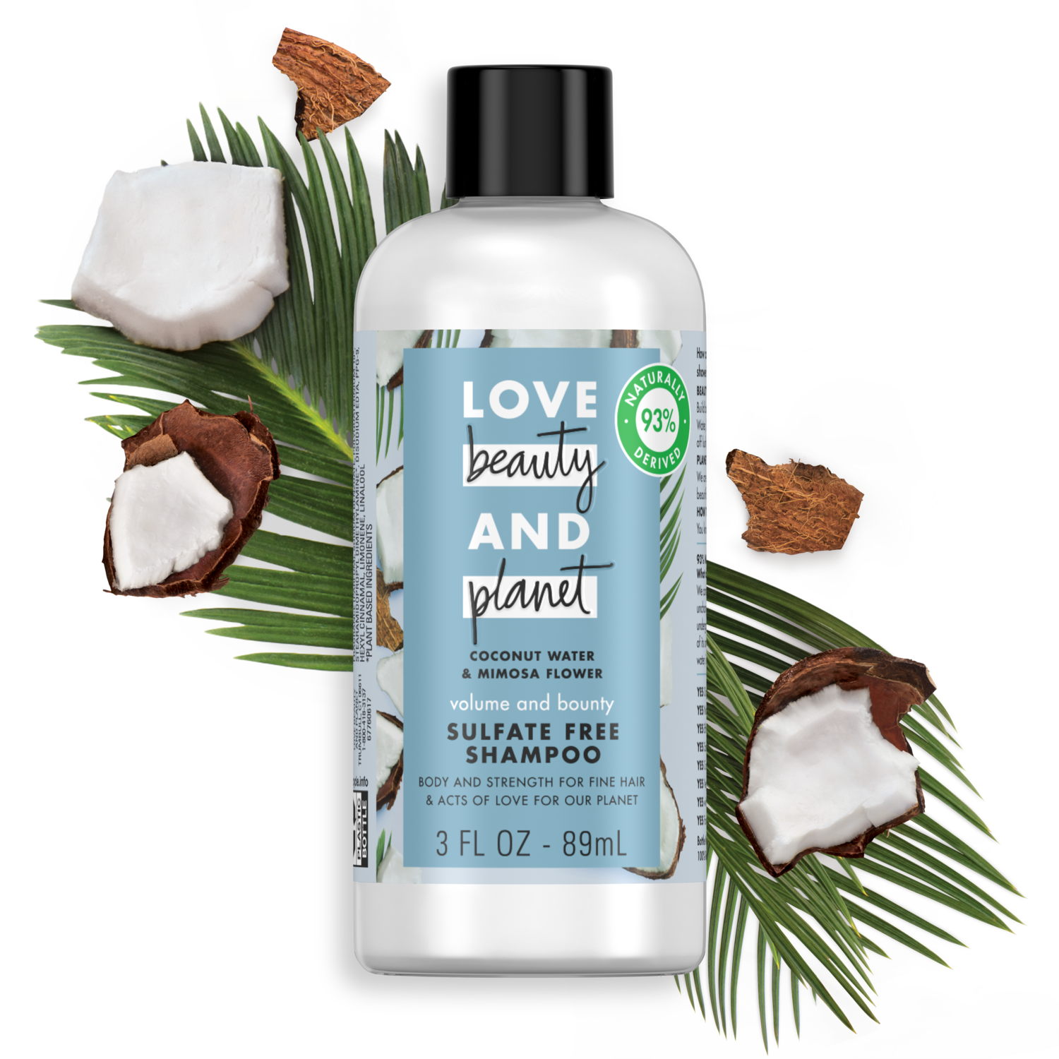 b0d758f4801c Love Beauty and Planet Coconut Water & Mimosa Flower Sulfate-Free ...