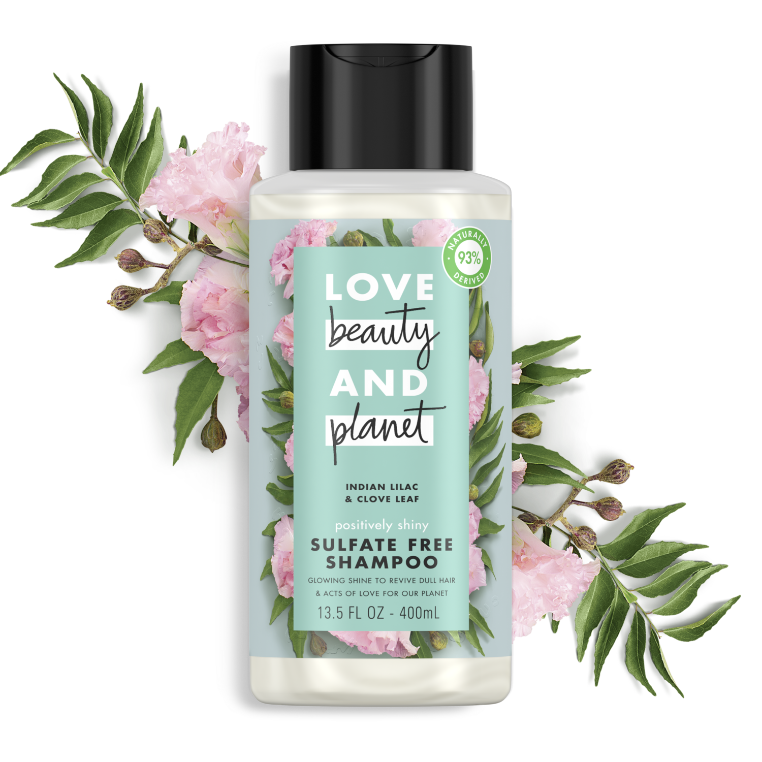 Lilac And Clove Sulfate Free Shampoo Love Beauty And Planet