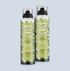 hair spray cans